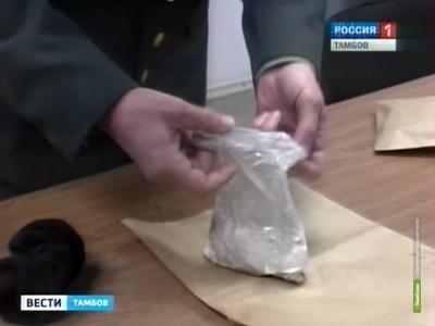 Наркополицейские Тамбова устроили «теплую» встречу курьеру