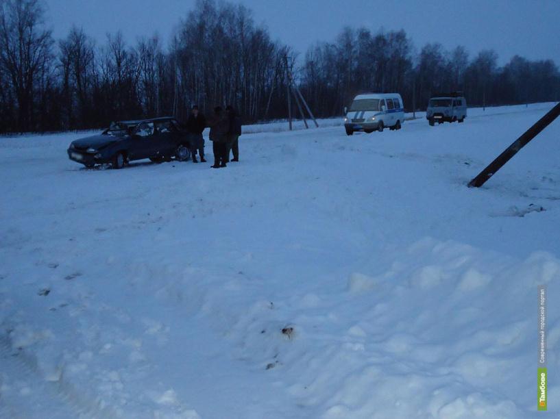 В ДТП под Тамбовом погибла молодая женщина