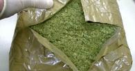 Тамбовские полицейские нашли на улице почти килограмм марихуаны