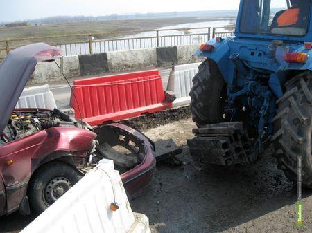На тамбовской трассе автомобилист сбил дорожного рабочего