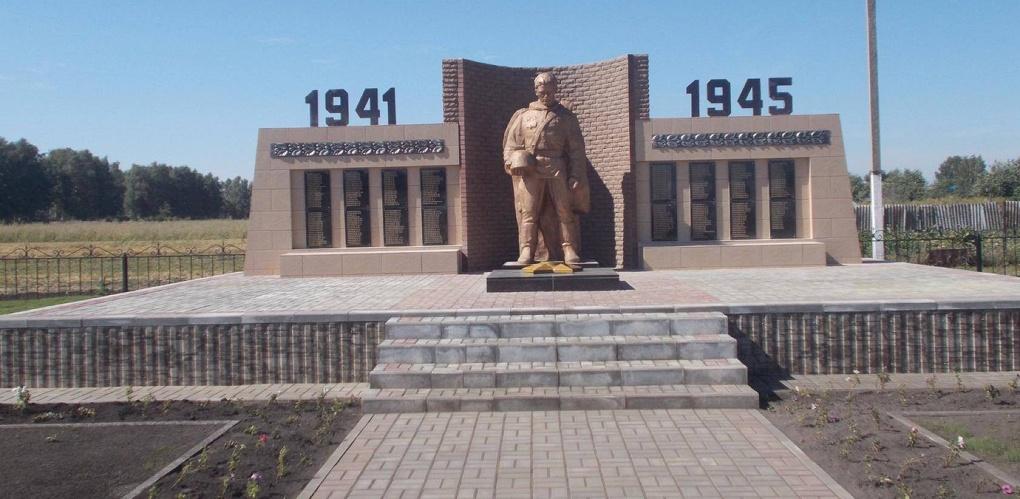 В Тамбовской области открыли ещё один военный мемориал