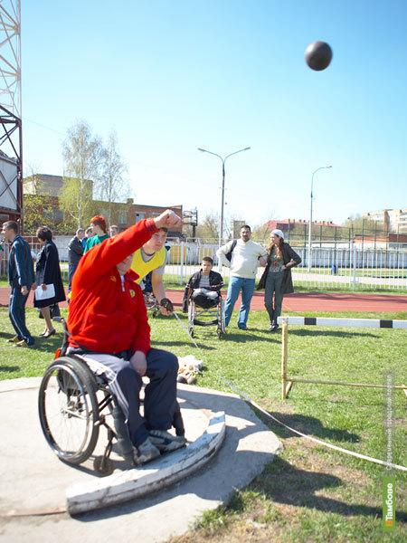 В Тамбове пройдет первенство по легкой атлетике для инвалидов