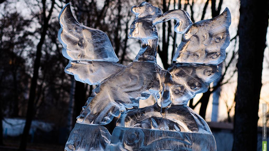 Первый рабочий день тамбовчан: снег и солнце для бодрости