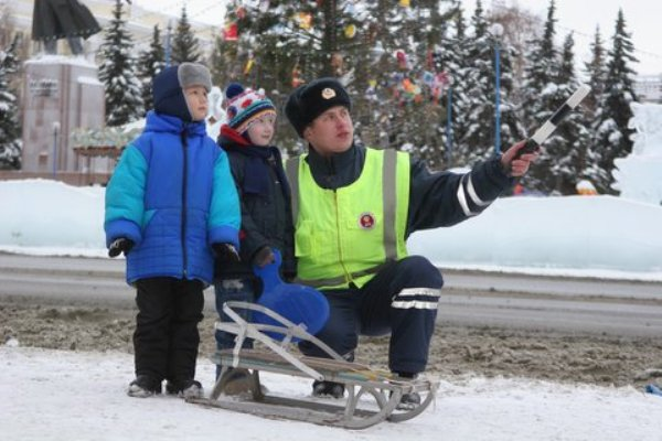 ГИБДД проводит операцию «Зимние каникулы»