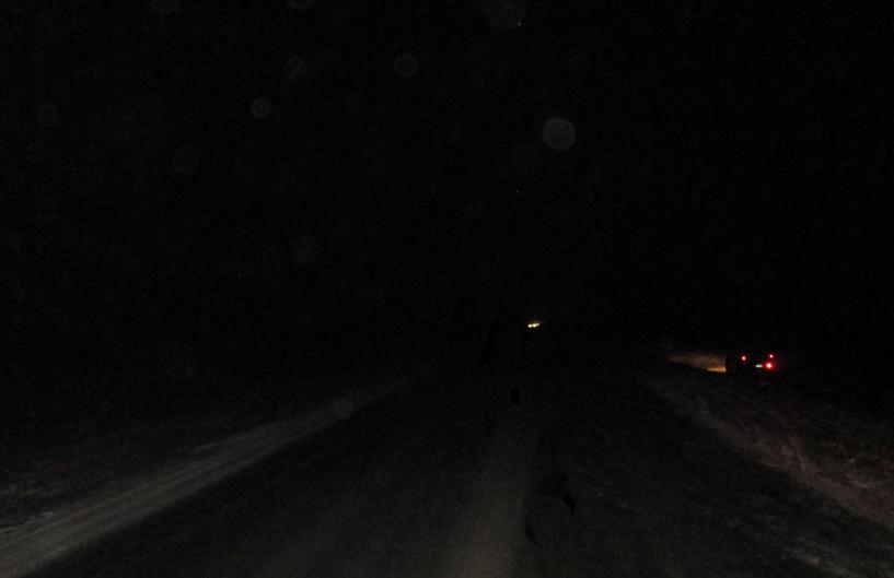 На трассе в Уваровском районе перевернулась легковушка