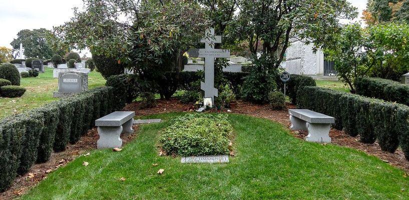 На могилу Сергея Рахманинова в Нью-Йорк привезли землю из Ивановки