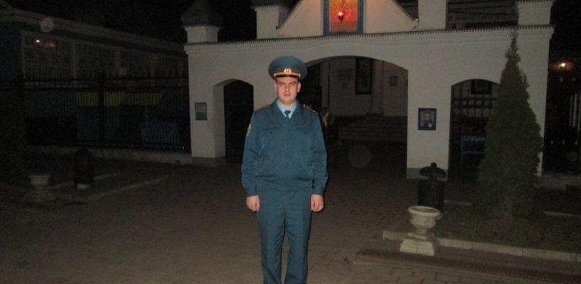 Покой тамбовчан во время Пасхального богослужения охраняли 80 сотрудников МЧС