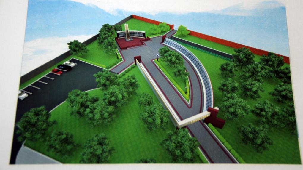 Оставим, как есть: появились эскизы нового мемориального комплекса в районе Воздвиженского кладбища