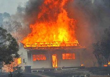 Под Тамбовом на пожаре погиб пенсионер