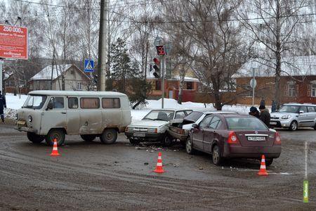 ДТП в Тамбове парализовало работу троллейбусов