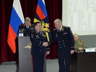 Начальник регионального УМВД получил медаль «За доблесть в службе»