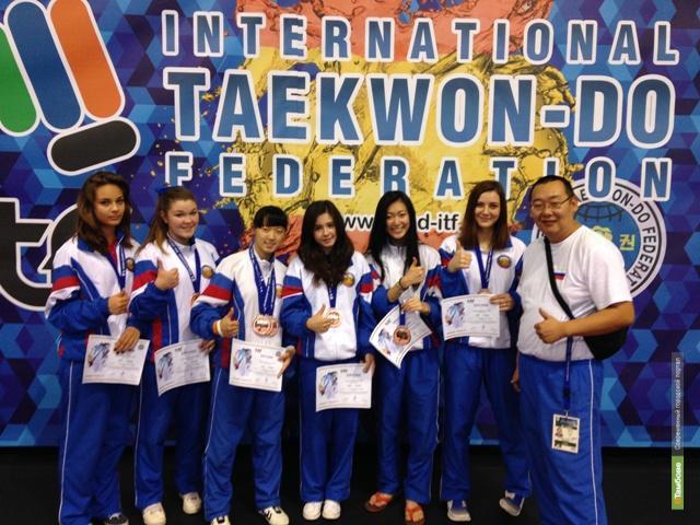 Тамбовчане успешно выступили на чемпионате мира по тхэквондо