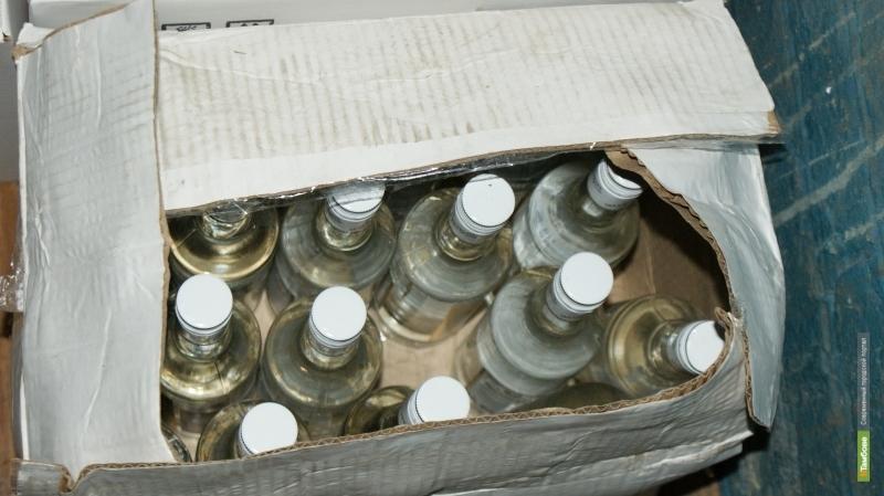 Полицейские в пятый раз прикрыли подпольный алкомаркет на севере Тамбова