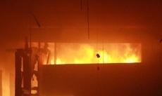 В Ржаксе воспламенился частный дом