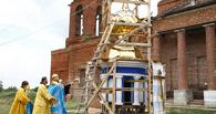 Митрополит Феодосий освятил купола и кресты для Покровского храма