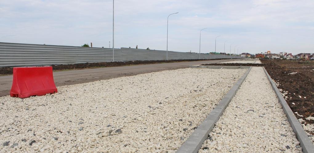 На севере Тамбова продолжают строительство улицы Пахотной