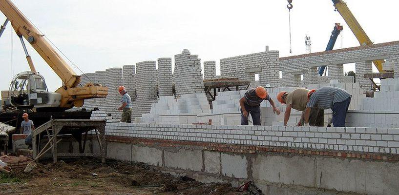 Новая школа в Рассказово строится быстрее, чем предполагали