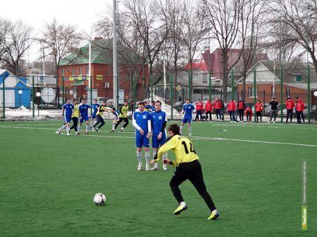 «Академия футбола» выиграла у орловских футболистов