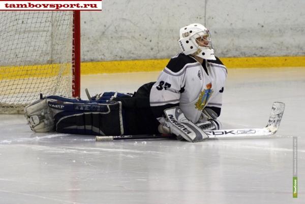 Тамбовские хоккеисты не справились с аутсайдером чемпионата