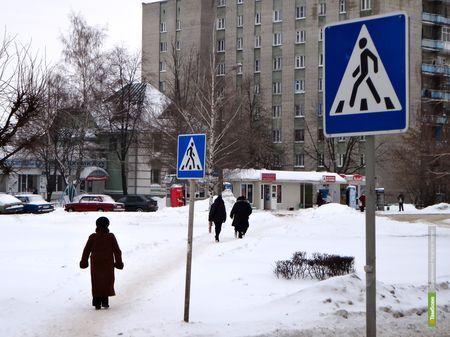 Из Тамбова исчез опасный пешеходный переход