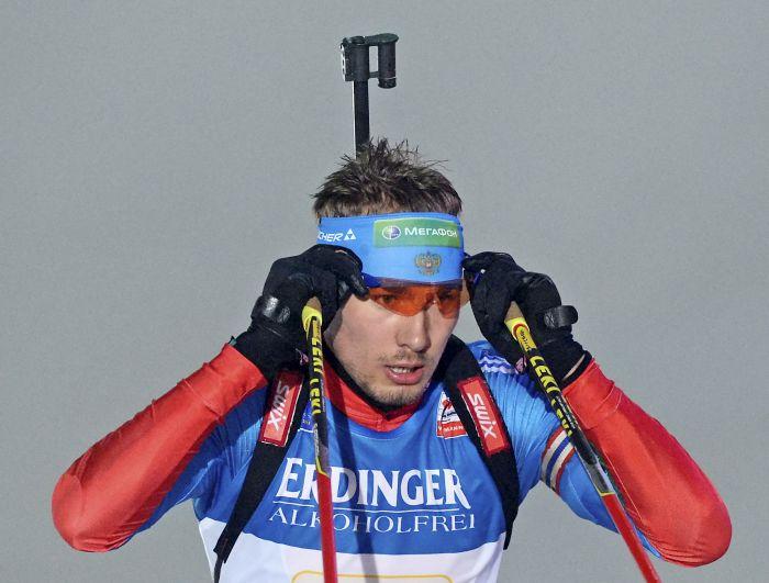 Антон Шипулин выиграл «серебро» в гонке преследования