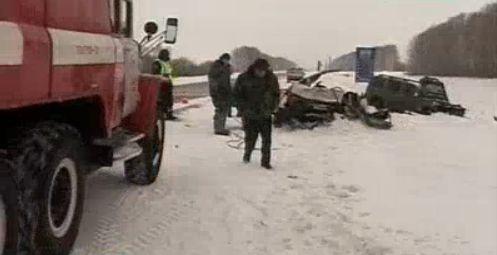 Два человека погибли в ДТП на тамбовском участке трассы М6 Каспий