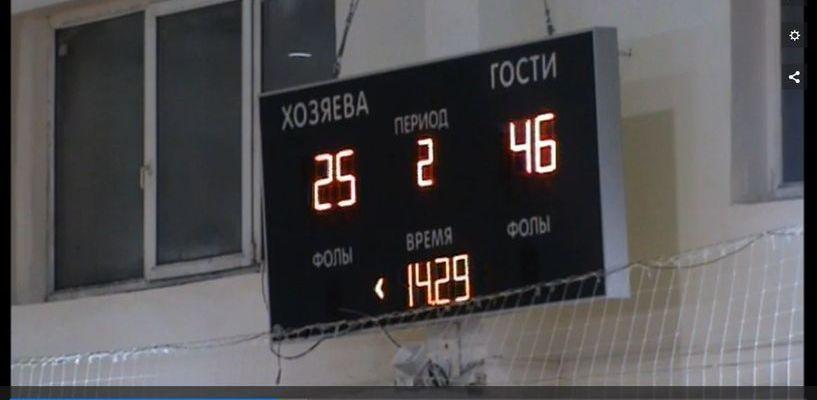 Тамбовские баскетболисты одержали победу над ставропольским «Динамо»
