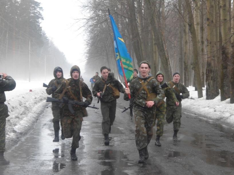 В память о героях-десантниках тамбовчане совершат марш-бросок