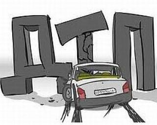 На Тамбовщине пьяный водитель на ВАЗ 2107 протаранил ограждение газопровода