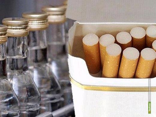 Цены на сигареты и водку могут повыситься