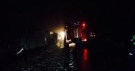 На трассе в Жердевском районе перевернулся автобус с пассажирами