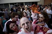 На американском ТВ прозвучало экстренное сообщение о нашествии зомби