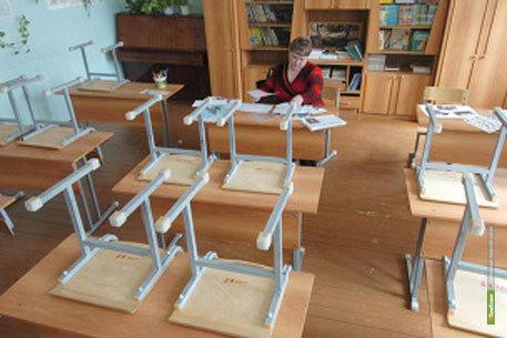 5 школ Тамбовщины по-прежнему находятся на карантине
