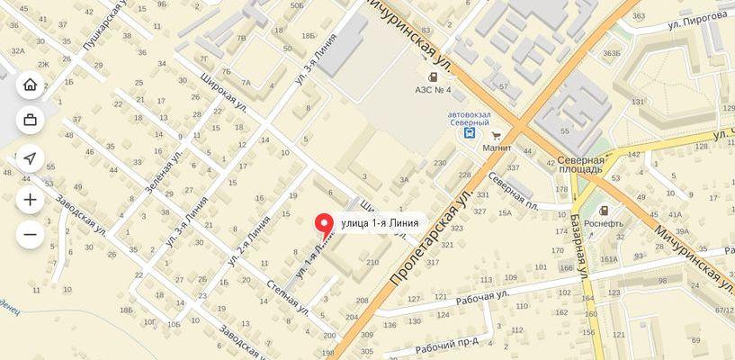 В Тамбове хотят переименовать три улицы