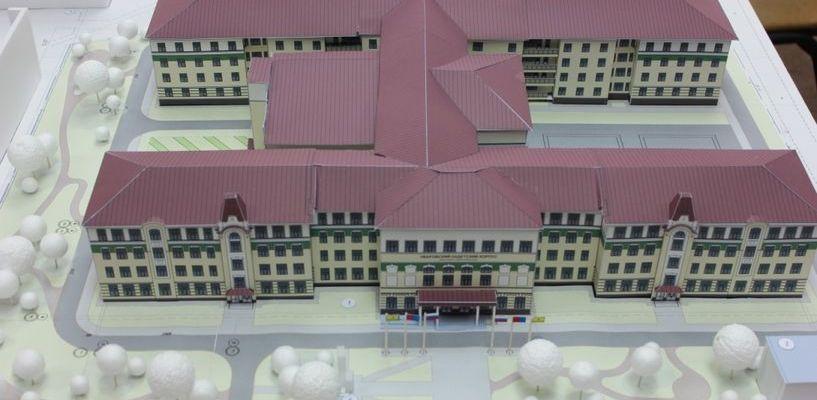 Макет готов: в Уварово показали, как будет выглядеть новый кадетский корпус