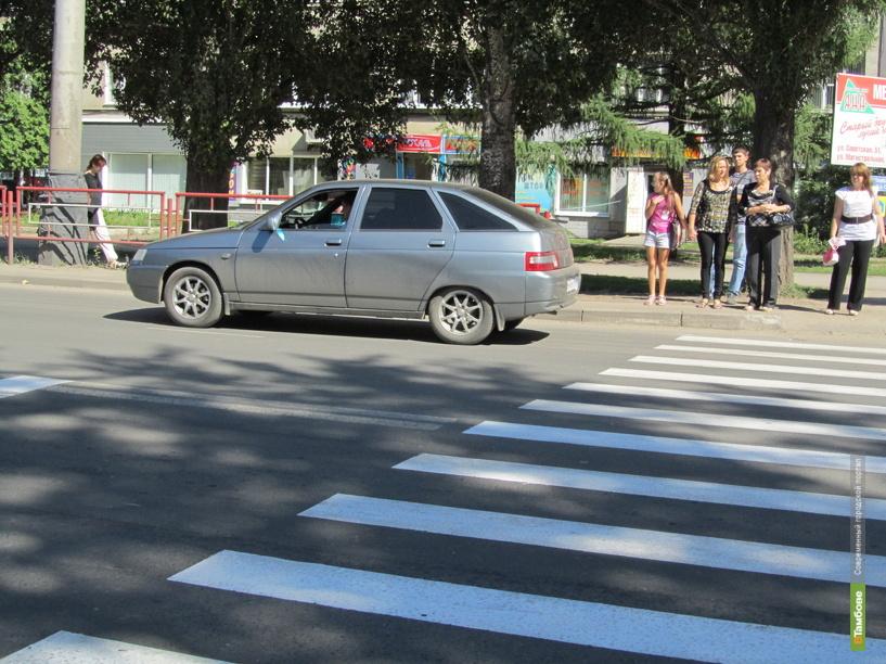 За 48 часов тамбовские водители сбили троих пешеходов