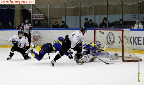 Хоккеисты из Тамбова выиграли первый матч за Кубок РХЛ