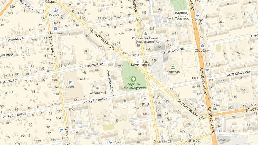 Часть улицы Мичуринской будет закрыта для движения до 20 мая