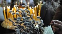 В Вербное воскресенье церковь призывает бороться с врагами веры