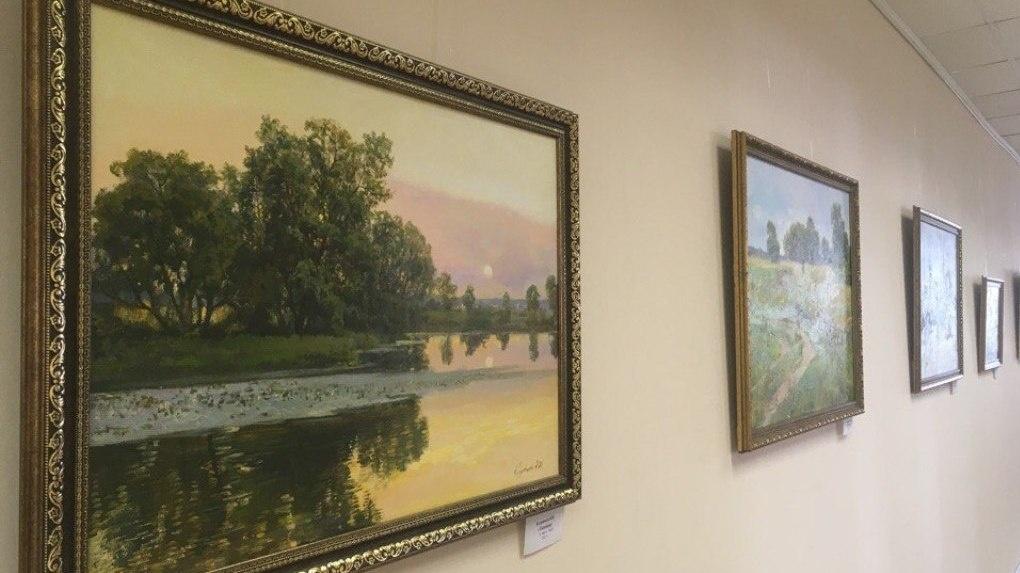 В Тамбовском филиале РАНХиГС открылась выставка художников Кудрявцевых