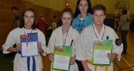 Юные каратисты привезли три медали из Московской области