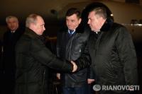 Путин приехал в Волгоград, чтобы поговорить о терроризме