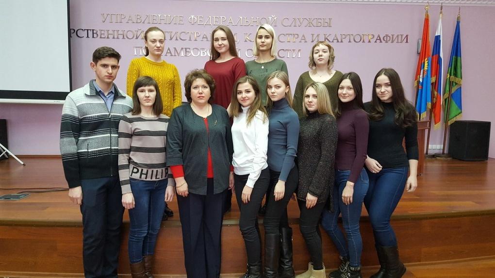 Студенты Тамбовского филиала РАНХиГС посетили Единый день консультаций Росреестра