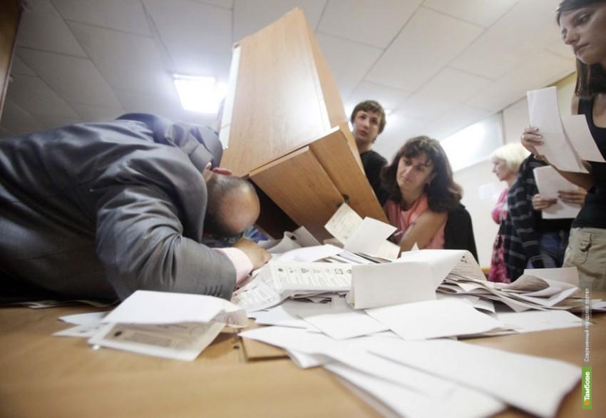 Тамбовчанам покажут фотоотчет прошедших выборов