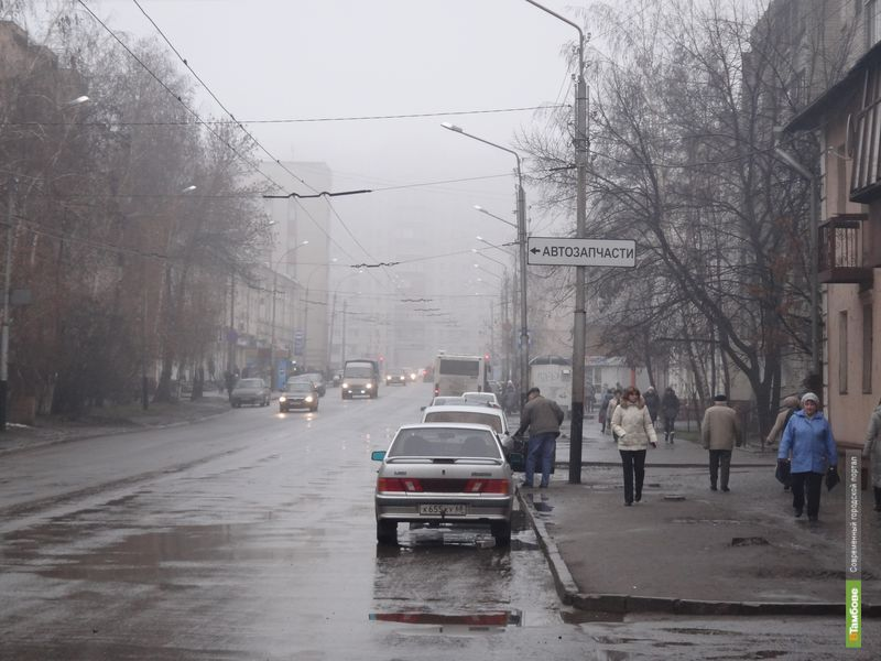 К вечеру туман рассеется на территории всей Тамбовской области