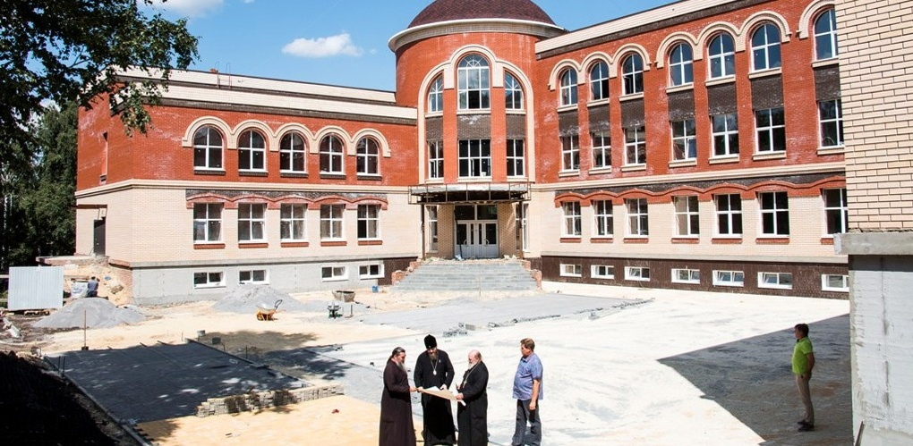 Оставшуюся часть здания православной гимназии достроят к началу учебного года