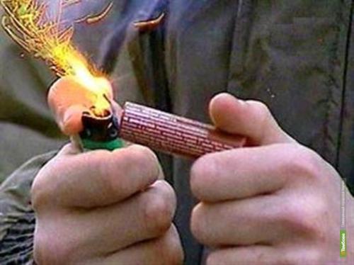 Тамбовчанам запретили запускать фейерверки во дворах