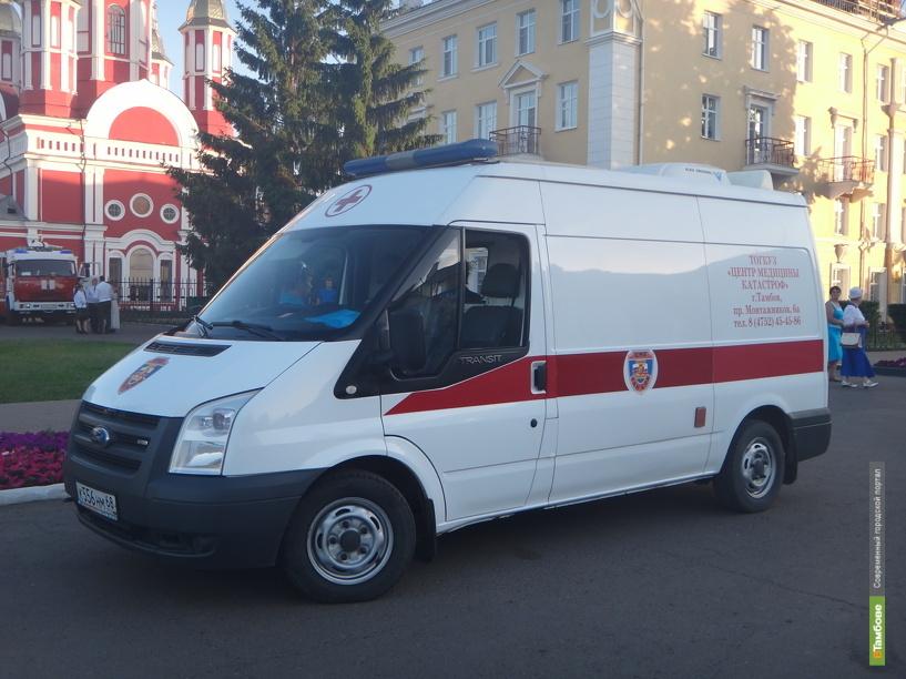 В Тамбове семнадцатилетний парень попал под колёса «Нивы»