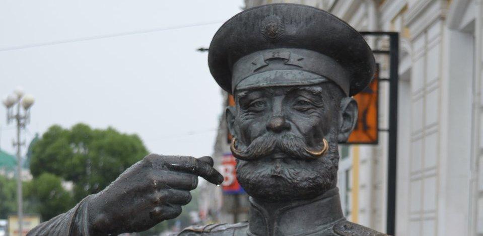 В центре Тамбова поставят памятник городовому