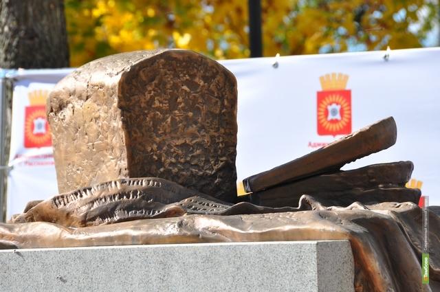В Рассказово поставили памятник Бородинскому хлебу